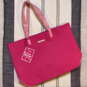 Juicy Couture Pink Two-Tone Tote Bag NWT